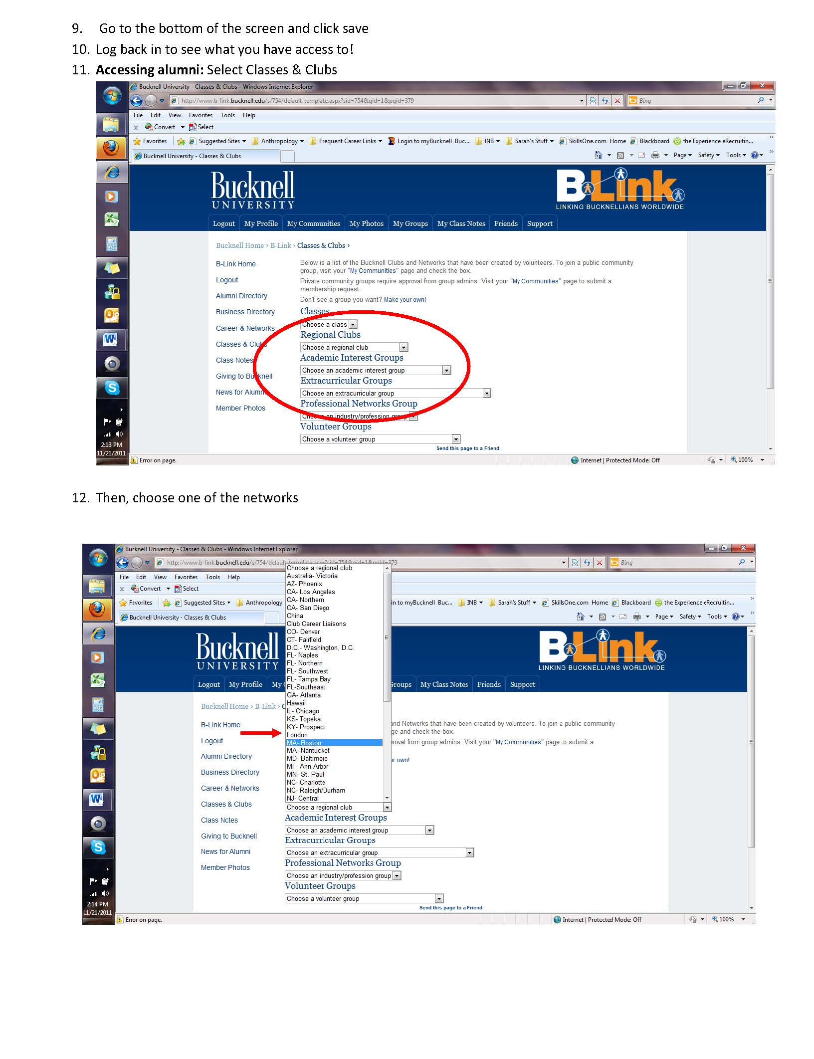 B Link Access How To Use Network Access 171 Career Insider
