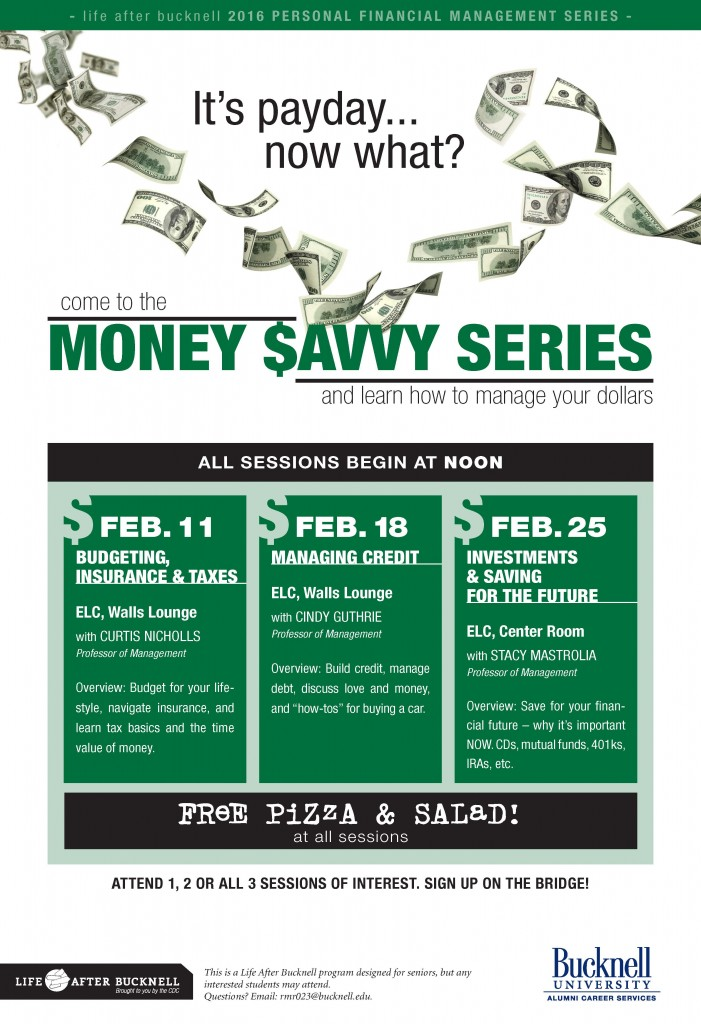 Money Savvy Poster
